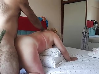 greek 52 yo mature elena and johan doggystyle sex