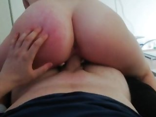 young amateur gf riding my dick