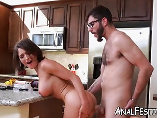 krissy lynn has her fat ass tested unconnected with giant pulsating dick